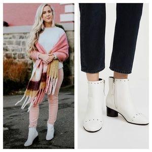 Rebecca Minkoff Isley Block Heel Ankle Boots!